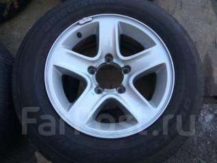 Продам летние шины 235/60R16 на дисках Escudo. x16 5x139.70 ET5
