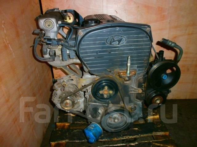Двигатель в сборе. Hyundai Trajet