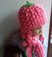 Шапка и шарф. Рост: 86-98, 98-104, 104-110 см