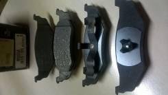 Колодки тормозные дисковые mx658