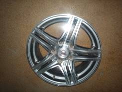 NZ Wheels F-6. 6.5x15, 5x114.30, ET45, ЦО 67,1 мм.