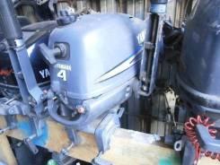 Yamaha. 4,00л.с., 4х тактный, бензин, нога S (381 мм), Год: 2004 год