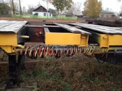 Ackermann. Раздвижной полупицеп Аккерман Фрюхауф, 20 000 кг.