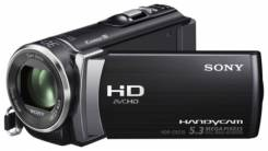 Sony HDR-CX210E. Менее 4-х Мп, без объектива