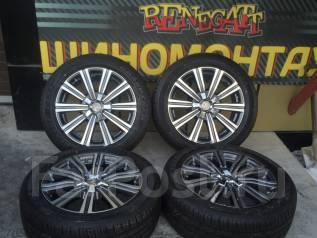 Оригинальные новые колёса на Lexus LX570 16+ 275/50R21 Dunlop PT3A. 8.5x21 5x150.00 ET54 ЦО 110,1мм.