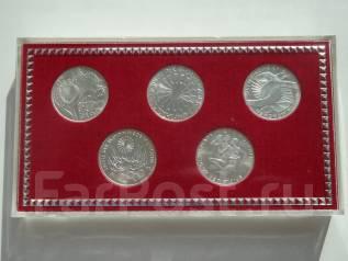 ФРГ набор Олимпиада-72. 5 монет номиналом 10 марок.