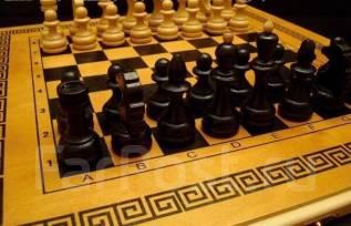Шахматы, шашки, нарды( 52х26х4 см)
