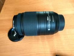 Продам теле объектив Nikon AF-S DX 55-300mm во Владивостоке. диаметр фильтра 58 мм