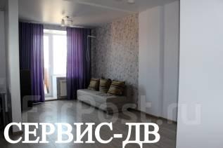 1-комнатная, улица Комсомольская 25б. Первая речка, агентство, 43 кв.м. Комната