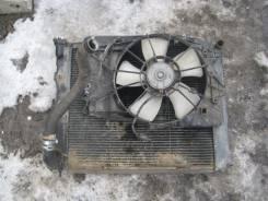 Радиатор охлаждения двигателя. Honda Pilot, YF4 Двигатель J35Z4