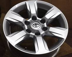 Toyota Land Cruiser Prado. 7.5x17, 6x139.70, ET25, ЦО 106,1мм.