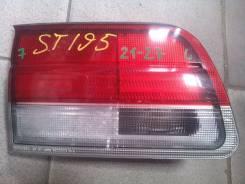 Вставка багажника. Toyota Caldina, ST190, ST191, ST195, AT191 Двигатели: 7AFE, 4SFE, 3SGE, 3SFE