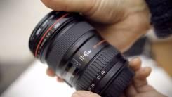 Объектив Canon 17-40 F4 L USM. Для Canon, диаметр фильтра 77 мм