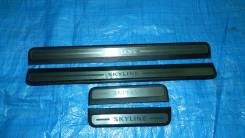 Накладка на порог. Nissan Skyline, NV36, KV36, PV36, V36 Двигатели: VQ35HR, VQ37VHR, VQ25HR