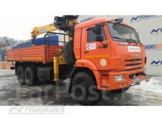 Камаз 43118 Сайгак. КМУ Камаз 43118-3027-46+Soosan SCS736 верх. упр. +борт сталь 6.2м., 11 760 куб. см., 12 000 кг.