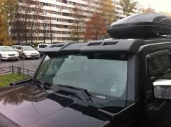 Спойлер на заднее стекло. Hummer H3