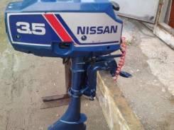 Nissan Marine. 3,50л.с., 2х тактный, бензин, нога S (381 мм), Год: 1992 год