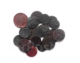 Подборка монет от Анны до Николая II-2 18 шт.