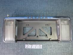 Рамка для крепления номера. Toyota Hilux Surf