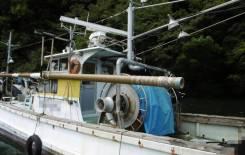 Шхуна тральщик 15 м из Японии. Год: 1984 год, длина 15,00м., двигатель стационарный, дизель. Под заказ