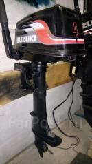 Suzuki. 4,00л.с., 2х тактный, бензин, нога S (381 мм), Год: 1999 год