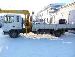 Hyundai Mega Truck. Продам Hyundai mega track 120 с КМУ 2013 г. в Иркутске, 7 545 куб. см., 5 000 кг.