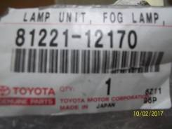 Фара противотуманная. Toyota WiLL VS, ZZE127, ZZE129, ZZE128, NZE127 Двигатели: 1ZZFE, 1NZFE, 2ZZGE