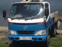 Hino Dutro. Породам грузовик c aпарелью, 4 613 куб. см., 2 000 кг.