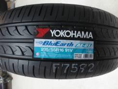 Yokohama BluEarth AE-01. Летние, без износа, 4 шт. Под заказ