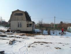 Продажа дачного участка с домом. От частного лица (собственник). Фото участка