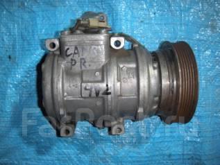 Компрессор кондиционера. Toyota Windom, VCV11, VCV10 Toyota Camry Prominent, VZV30, VZV33, VZV32, VZV31, VCV10, VCV11 Двигатели: 4VZFE, 3VZFE, 1VZFE