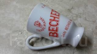 Чашка Becher's liqueur (Бехеровка). Карловы Вары. Фарфор. Кр. С рубля. Оригинал