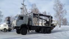Камаз. Продается вездеход Авганец сортиментовоз с гидроманипулятором, 10 000 куб. см., 10 000 кг.
