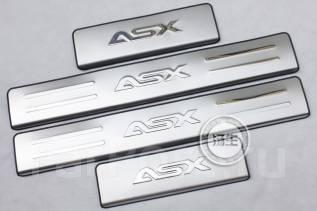 Накладка на порог. Mitsubishi ASX