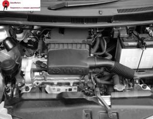 Двигатель. Toyota Ractis, SCP100 Двигатель 2SZFE. Под заказ