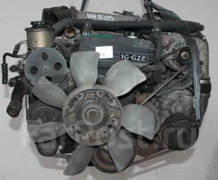 Двигатель в сборе. Toyota Cresta Toyota Chaser Toyota Mark II Toyota Crown Двигатель 1GGZE
