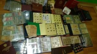 Куплю монеты , значки , марки , Коллекции , Антиквариат . Дорого. Выезд.