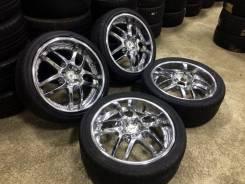 VIP хром диски R20 с летними шинами!. 5x100.00, 5x114.30