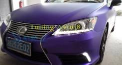 Фары передние хром линзы диодная лента тюнинг Lexus ES350 2006-32012