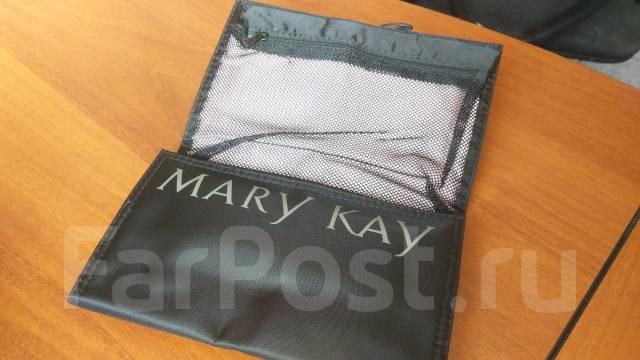 Набор косметических кистей мэри кей в складном футляре фото 128-202