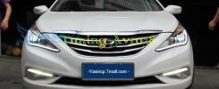 Фары передние тюнинг Hyundai Sonata 2009-2014