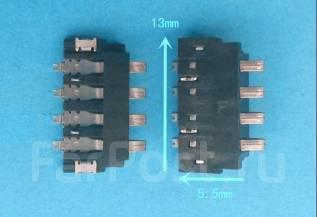 Разъемы аккумуляторной батареи.