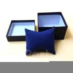 Подарочная коробочка для часов, цвет синий