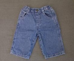 Полукомбинезоны джинсовые. Рост: 60-68 см