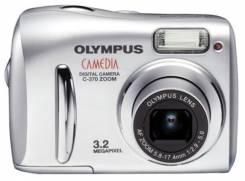 Olympus Camedia C-370 Zoom. Менее 4-х Мп, зум: 3х