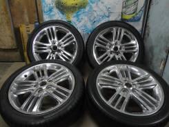 Продам Стильный Отличный Хром Autech+Лето Жир 215/45R17Toyota, Nissan, H. 6.5x17 5x114.30 ET45