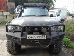 Силовые бампера на Land Cruiser 80 Exclusive. PRO Service MW