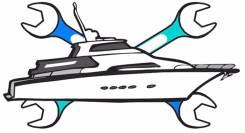 Ремонт, диагностика судовых двигателей.