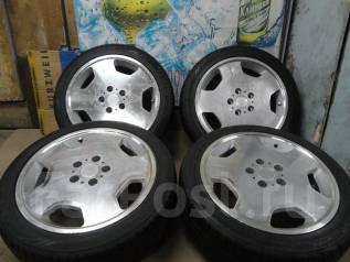 Продам Фирменную Полировку WEDS Leonis+Лето Жир 215/45R17Toyota, Honda. 7.0x17 5x114.30 ET53