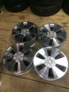 Литые диски garson. 7.0x17, 4x114.30, 5x114.30, ET25, ЦО 73,0мм.